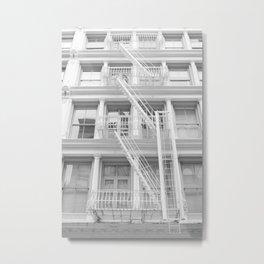 Soho Escape Metal Print