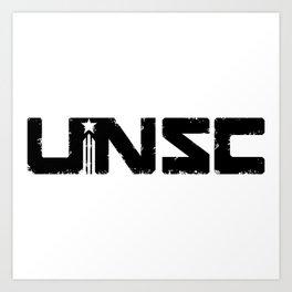 Unsc Federation hero Art Print