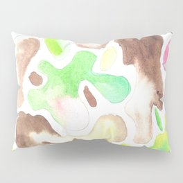 170623 Colour Shapes Watercolor 1    Abstract Shapes Drawing   Abstract Shapes Art  Watercolor Paint Pillow Sham