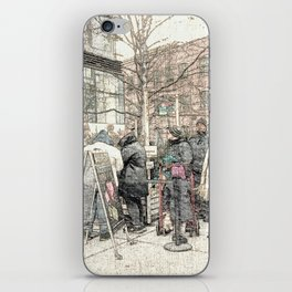 Christmas Trees in the City DPGPA151025c iPhone Skin