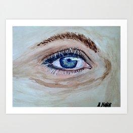 eye And I Art Print