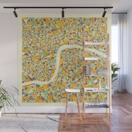 LONDON MAP Wall Mural