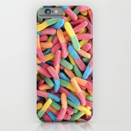 Gummy Worms iPhone Case