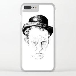 Tom Waits Clear iPhone Case
