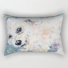 Henry Poodle Rectangular Pillow