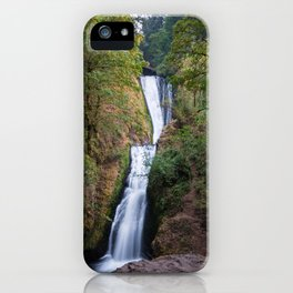 Bridal Veil Falls - Columbia River Gorge, Oregon iPhone Case