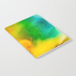 The Fall is Coming -  Abstract Ink and Resin Art Notebook