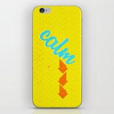 Calm Down  iPhone & iPod Skin