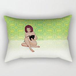 Nude Dimensions Nº3 Rectangular Pillow