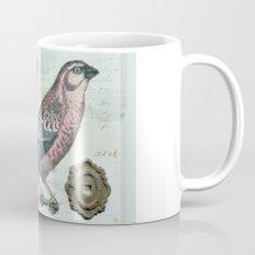 Vintage boho and bird Mug