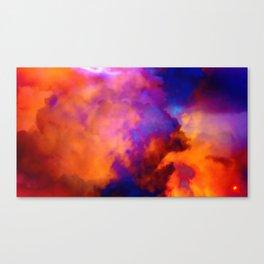 Qpop - Cloud Bubbles 2 Canvas Print