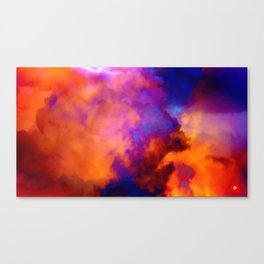 Qpop - Cloud Bubbles 2 Canvas Print