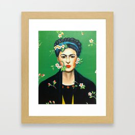 Alheli (Frida Kahlo) Framed Art Print