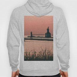 Sunset Lighthouse Hoody