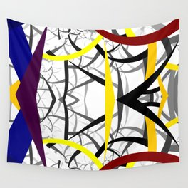 geometric architecture Wall Tapestry