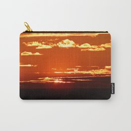 Red Gold Sunset in the Clouds Carry-All Pouch