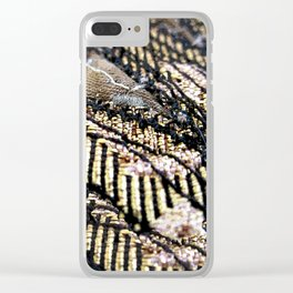 Shining gold Clear iPhone Case