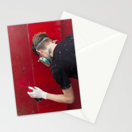Red Graffiti Stationery Cards