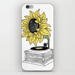 Singing in the sun iPhone Skin