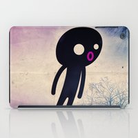 onesie iPad Cases featuring omino_ solitario by Marco Puccini