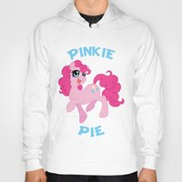 mlp Hoodies featuring MLP FiM: Pinkie Pie by Yiji