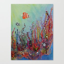 Ocean Reef Canvas Print