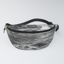 White waterfall Fanny Pack