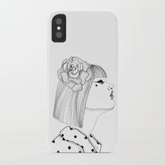 A Rose iPhone X Slim Case