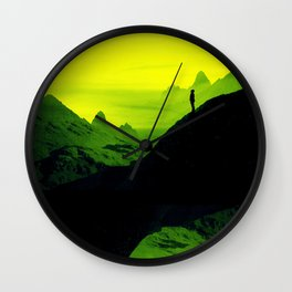 Vibrant Wasteland Wall Clock