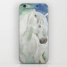White Spirit iPhone & iPod Skin