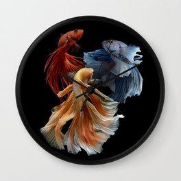 BEAUTIFUL BETA FISH Wall Clock