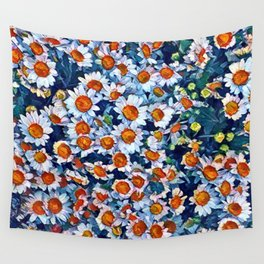 chrydsanthemum Wall Tapestry