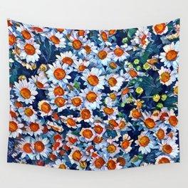chrydsanthemum Wall Tapestry