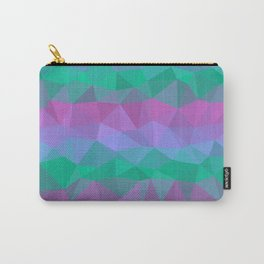 Jewel Tone Stripes Carry-All Pouch