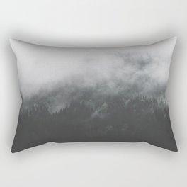 Spectral Forest II - Landscape Photography Rectangular Pillow