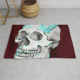 Skull wings Rug