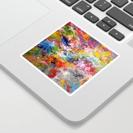 Explosion of emotions Sticker