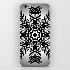 owl eyes open iPhone & iPod Skin