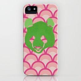 PANDA WAVES iPhone Case