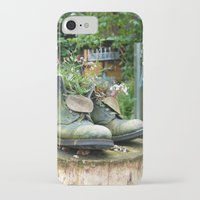 denmark iPhone & iPod Cases featuring Boot Vase, Denmark, 2004 by Palm-Prints