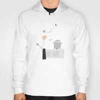 chef Hoodies featuring Cuckoo Chef by ilusland .:. marcelo BAdARI