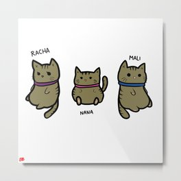 kitties Metal Print