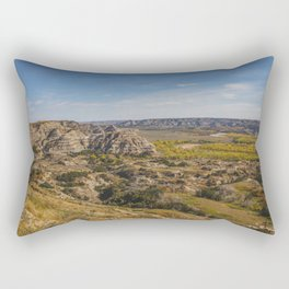 Badlands, Theodore Roosevelt NP, ND 1 Rectangular Pillow