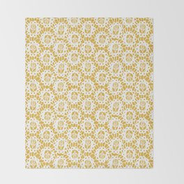 Bee Charmer Throw Blanket