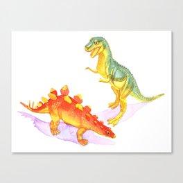 Toy Dinosaurs Canvas Print
