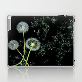 Blowing Dandelions, Scanography Laptop & iPad Skin