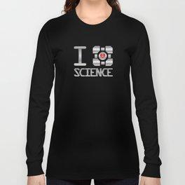 I heart Science Long Sleeve T-shirt