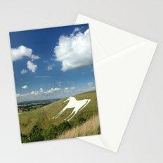 White Horses Stationery Cards