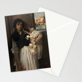 John Singer Sargent - Venetian Onion Seller Stationery Cards