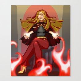 Evil Sorceress Canvas Print